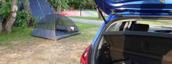 Car and tent, Western Australia (Marie Javins)