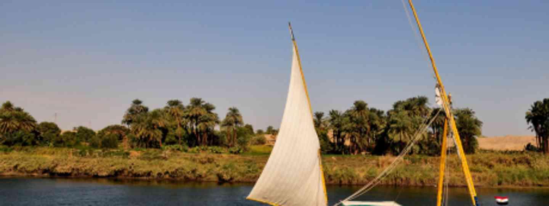 Cruise the Nile in a falucca (Ed Yourdon)