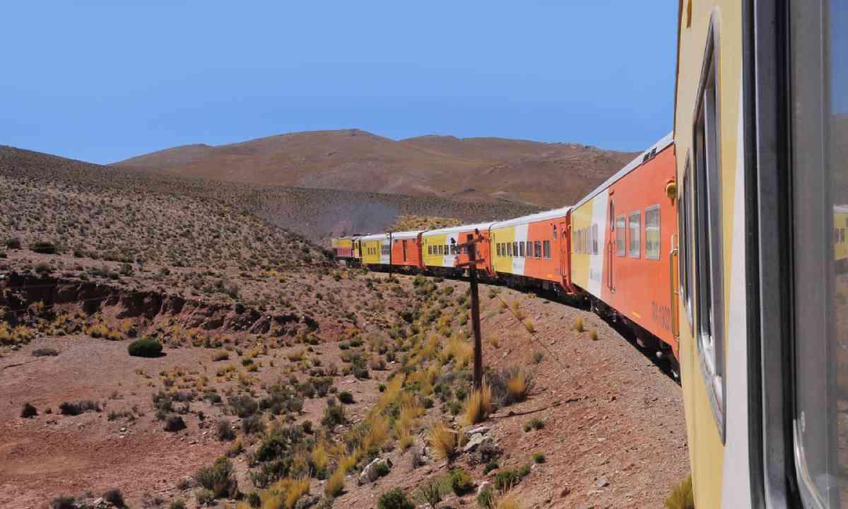 Tren a las Nubes (Shutterstock)