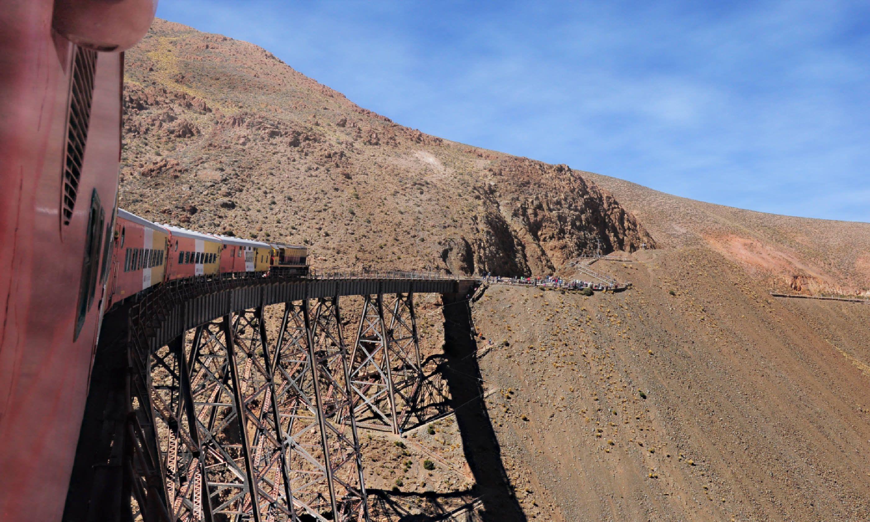 La Polvorilla viaduct (Shutterstock)