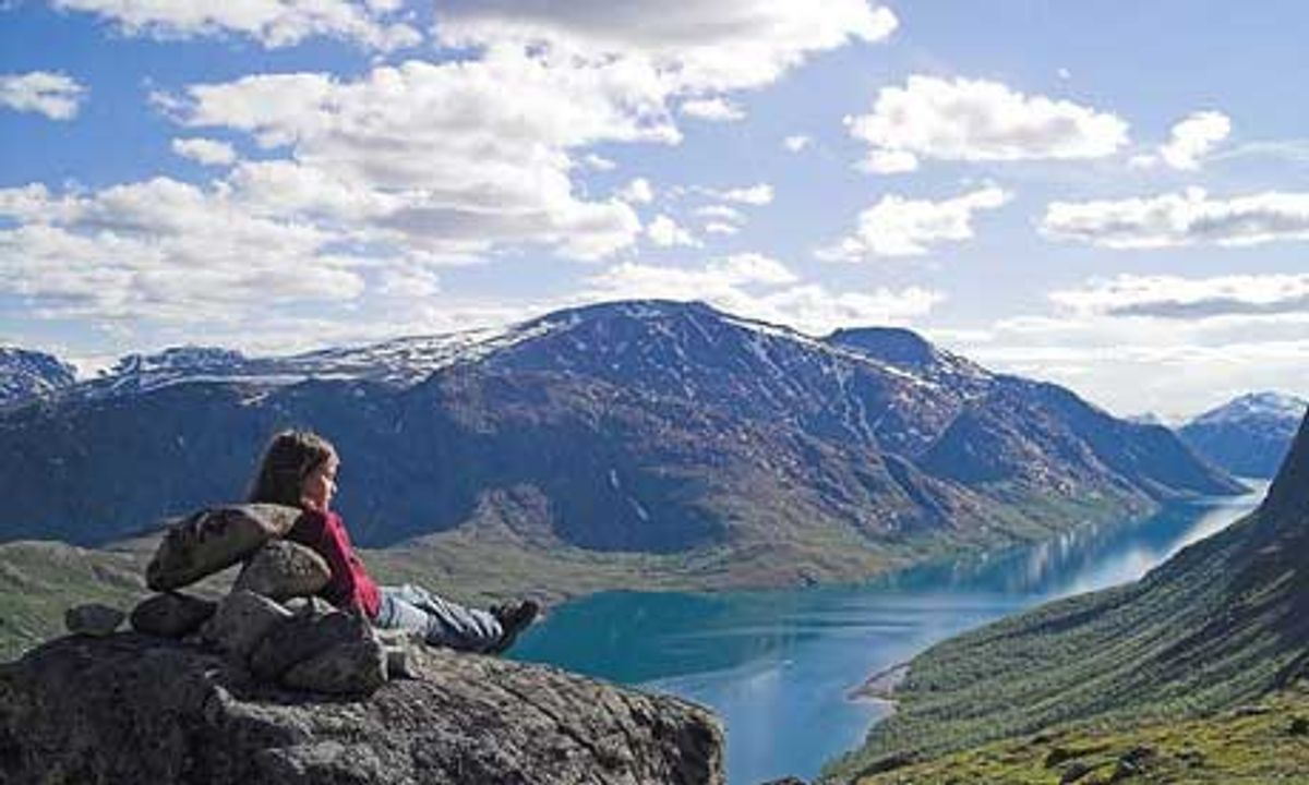 A camping and hiking weekend in Norway