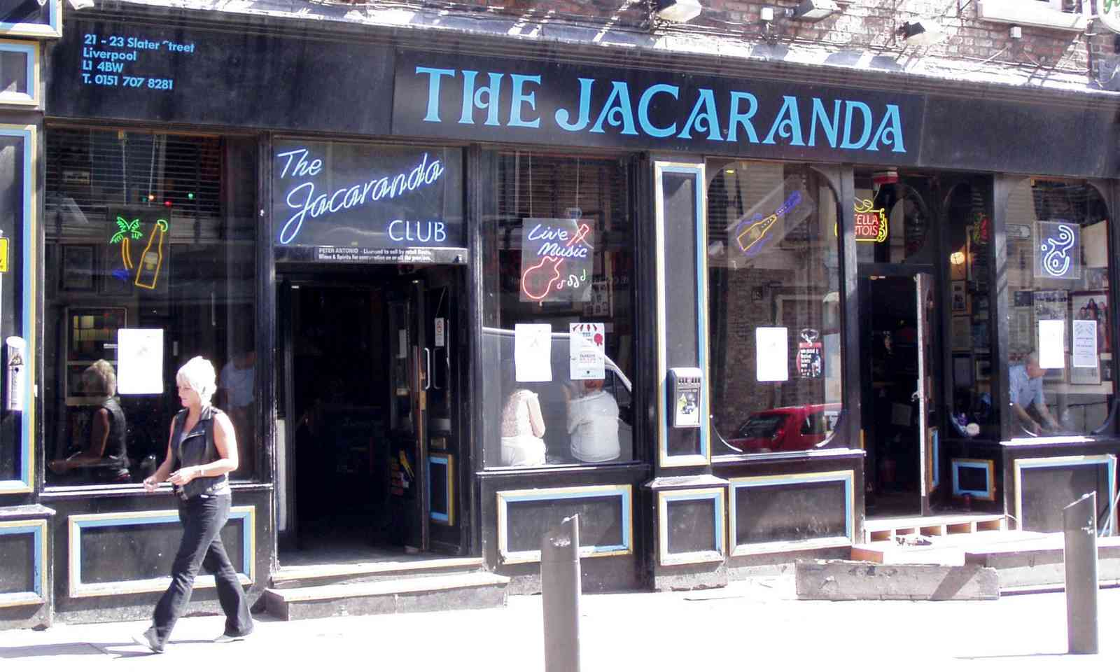 The Jacaranda Club (Creative Commons: John Bradley)