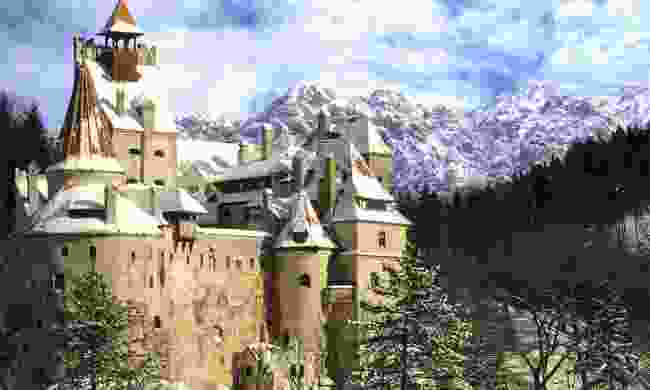 Bran Castle (Dreamstime)