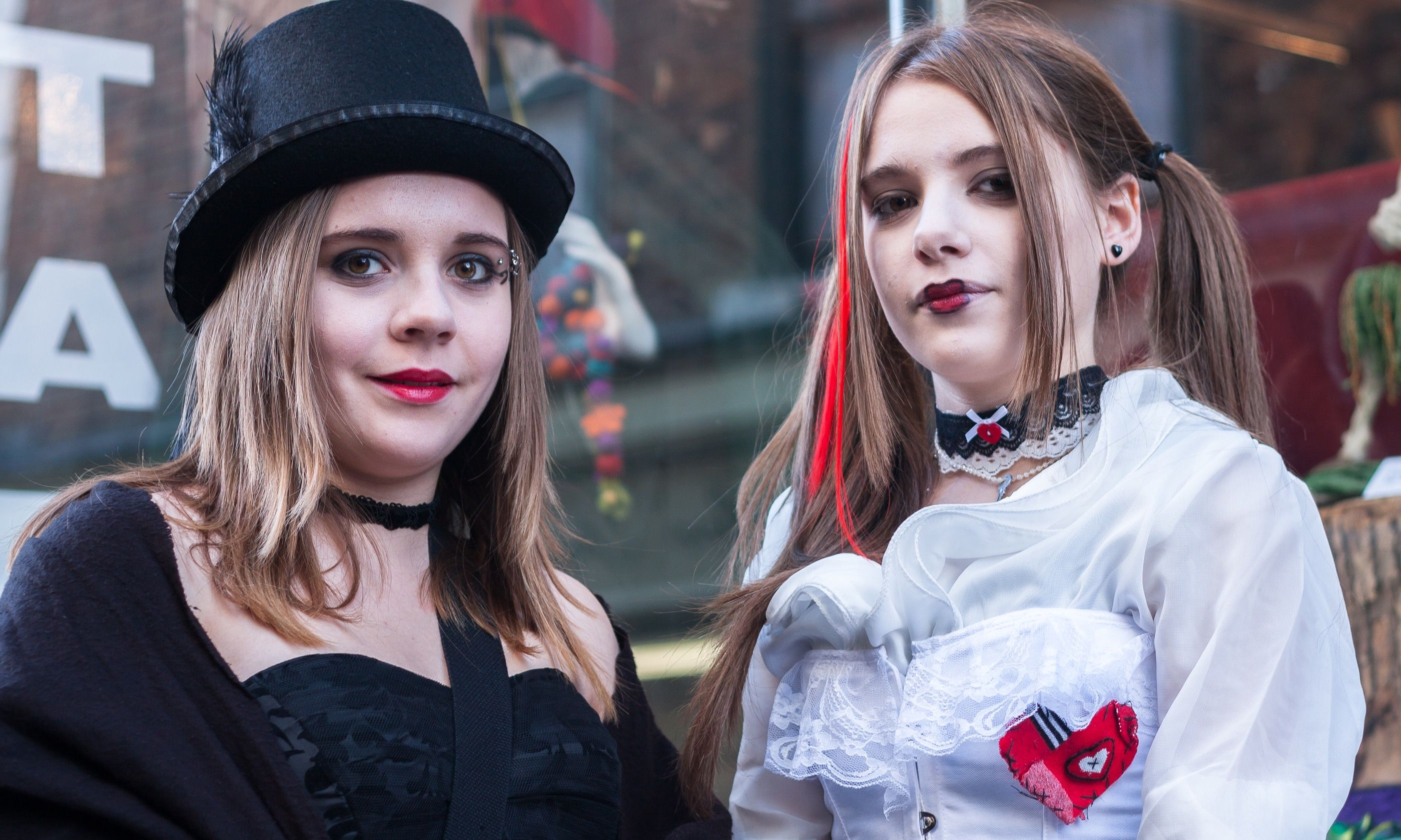 Goth girls, Whitby (Dreamstime)