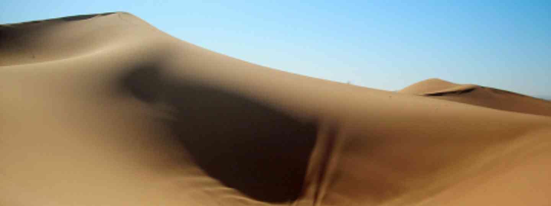 Dunes near the Algeria - Morocco border. (Raul Santos de la Camara)