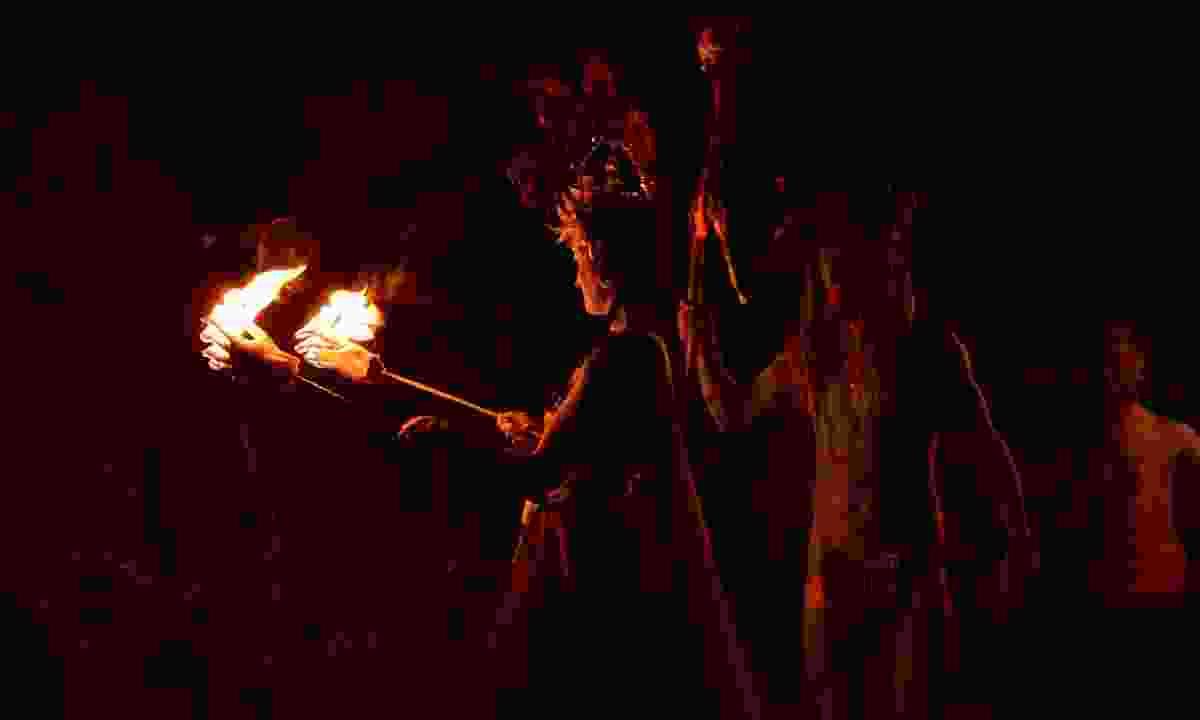 Samhain Fire Festival (Dreamstime)