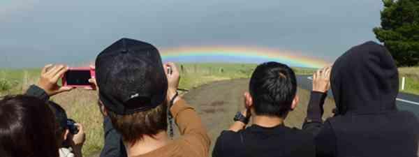 Rainbows over Tassie (Marie Javins)