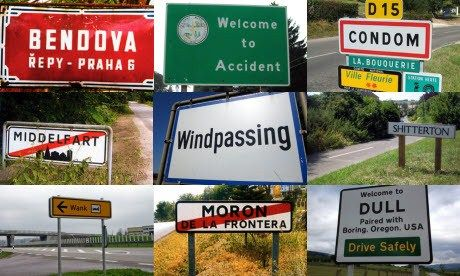 Embarrassing town names
