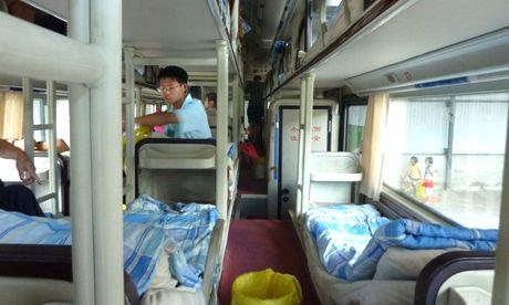 Chinese sleeper bus