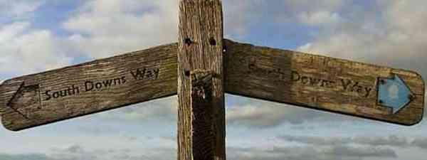 South Downs Way each way (Martin Thomas)