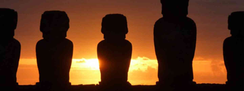 Big Heads on Easter Island (Marie Javins)