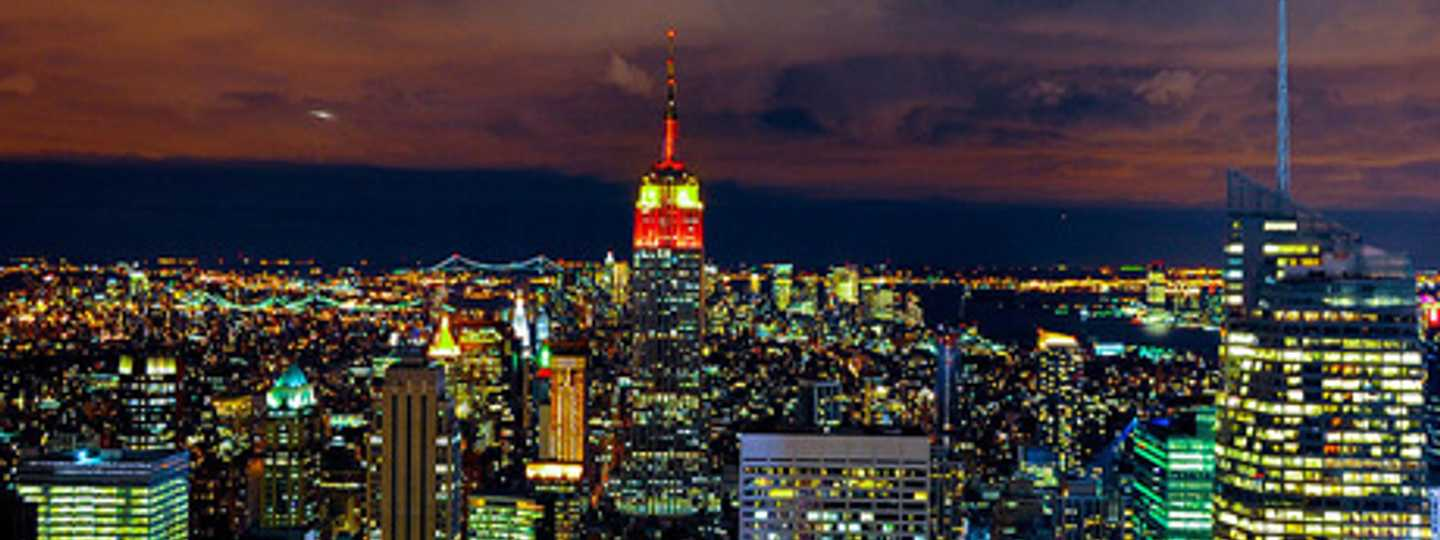 The bright lights of New York City (Andrew)
