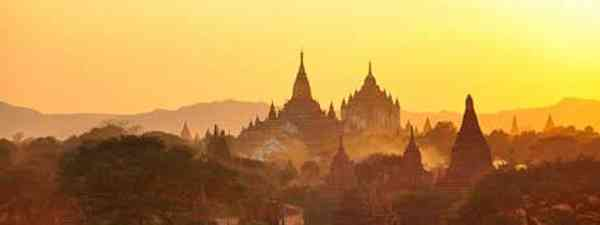 Pagan, Burma hosts a number of temples (Roger Price)