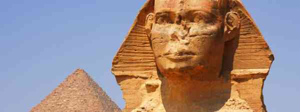 Sphinx and pyramid in Giza, Egypt (Dreamstime)
