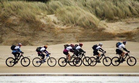Mountain-biking Tasmania