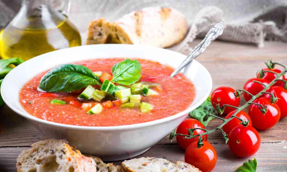 Tomato gazpacho (Shutterstock)