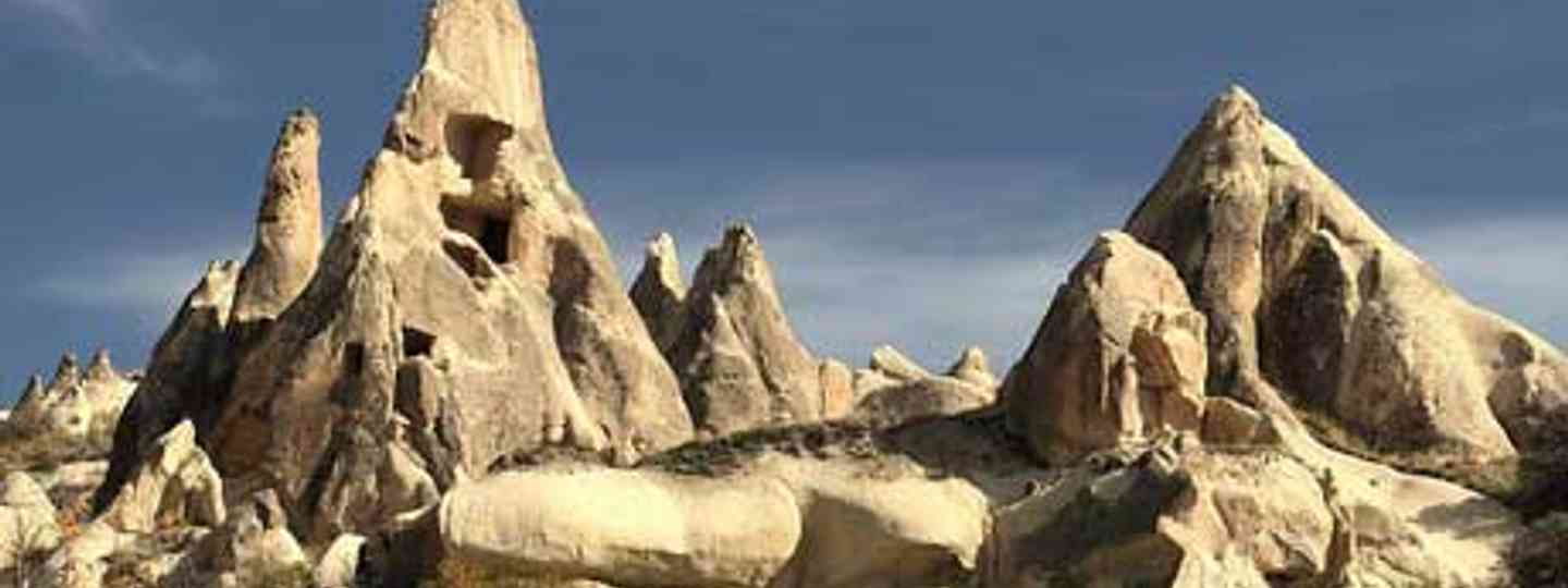 Cappadocia, a UNESCO world heritage site, is famed for its wierd and wonderful formations (Frank Kovalchek)