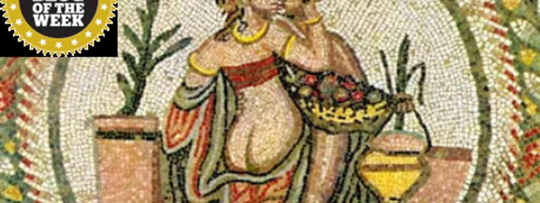 Piazza Armenia mosaic (Samantha)