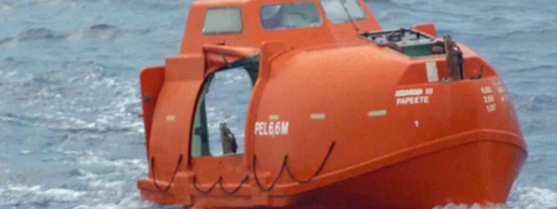 Man overboard! (Marie Javins)