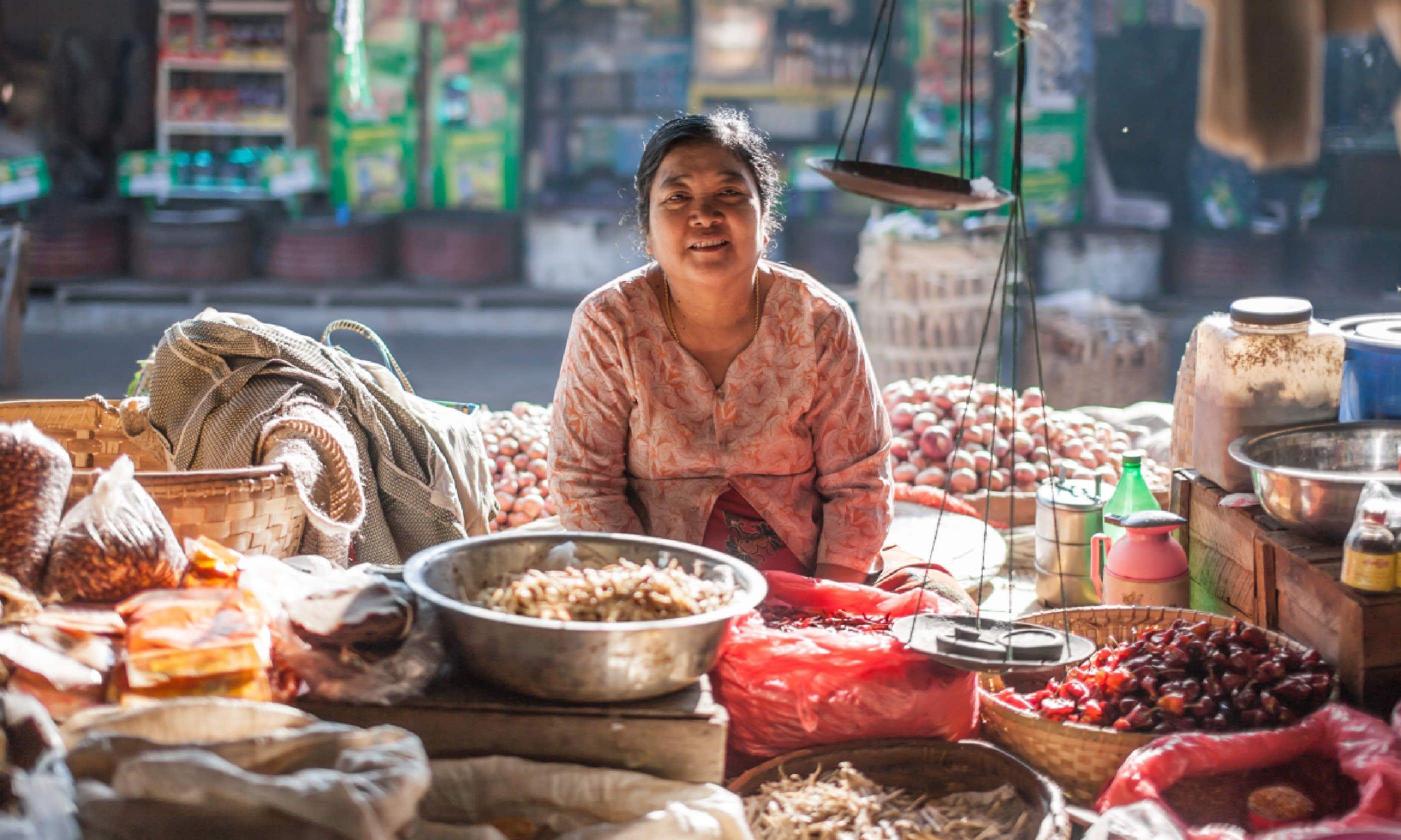 Mingalar Market, Myanmar (Shutterstock)