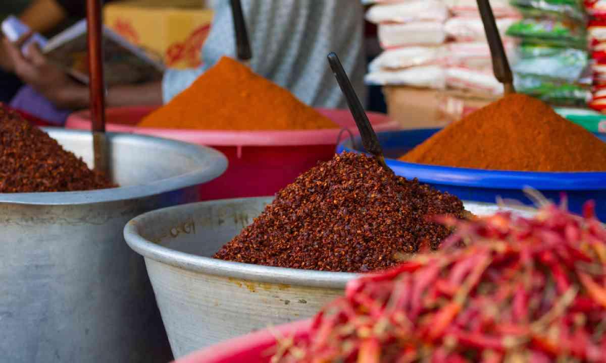 Market chili in Myanmar (Shutterstock)
