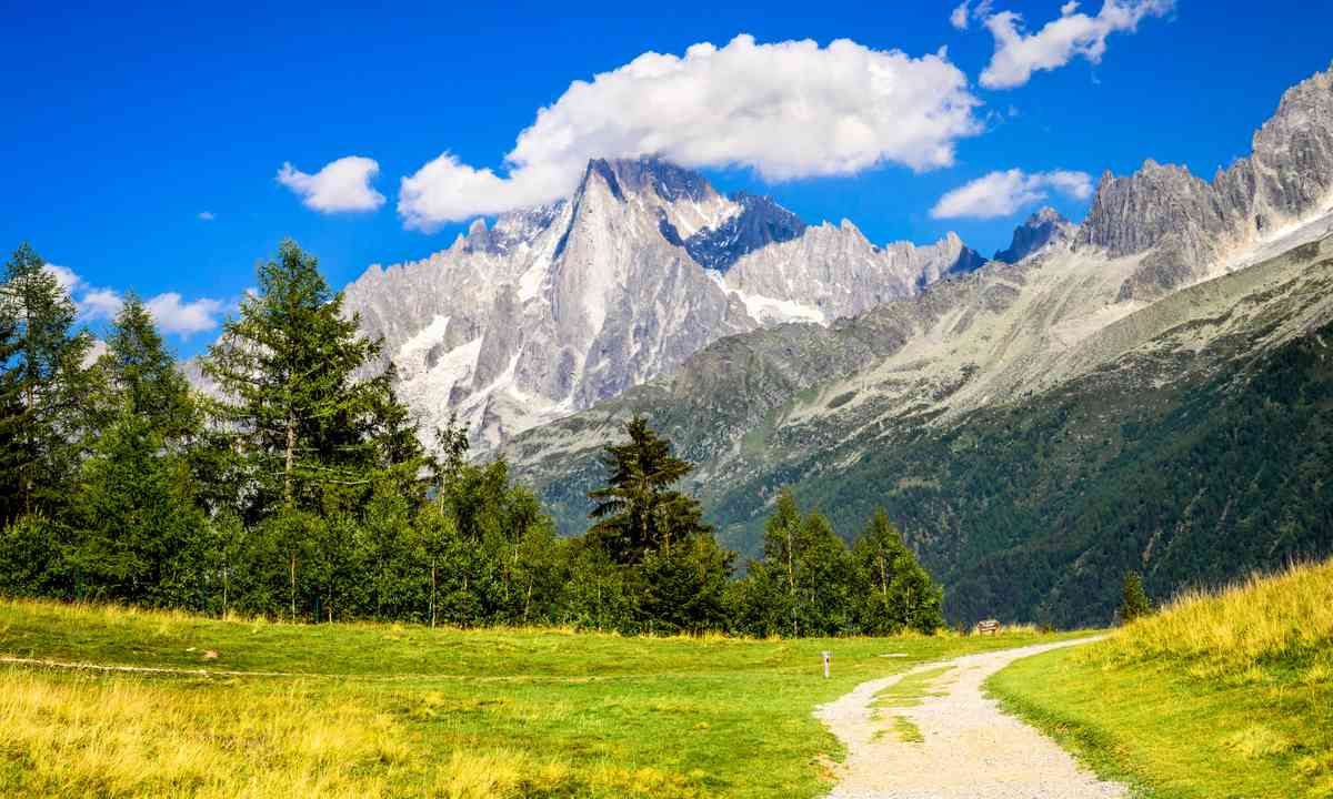 Mont Blanc in the summer (Dreamstime)
