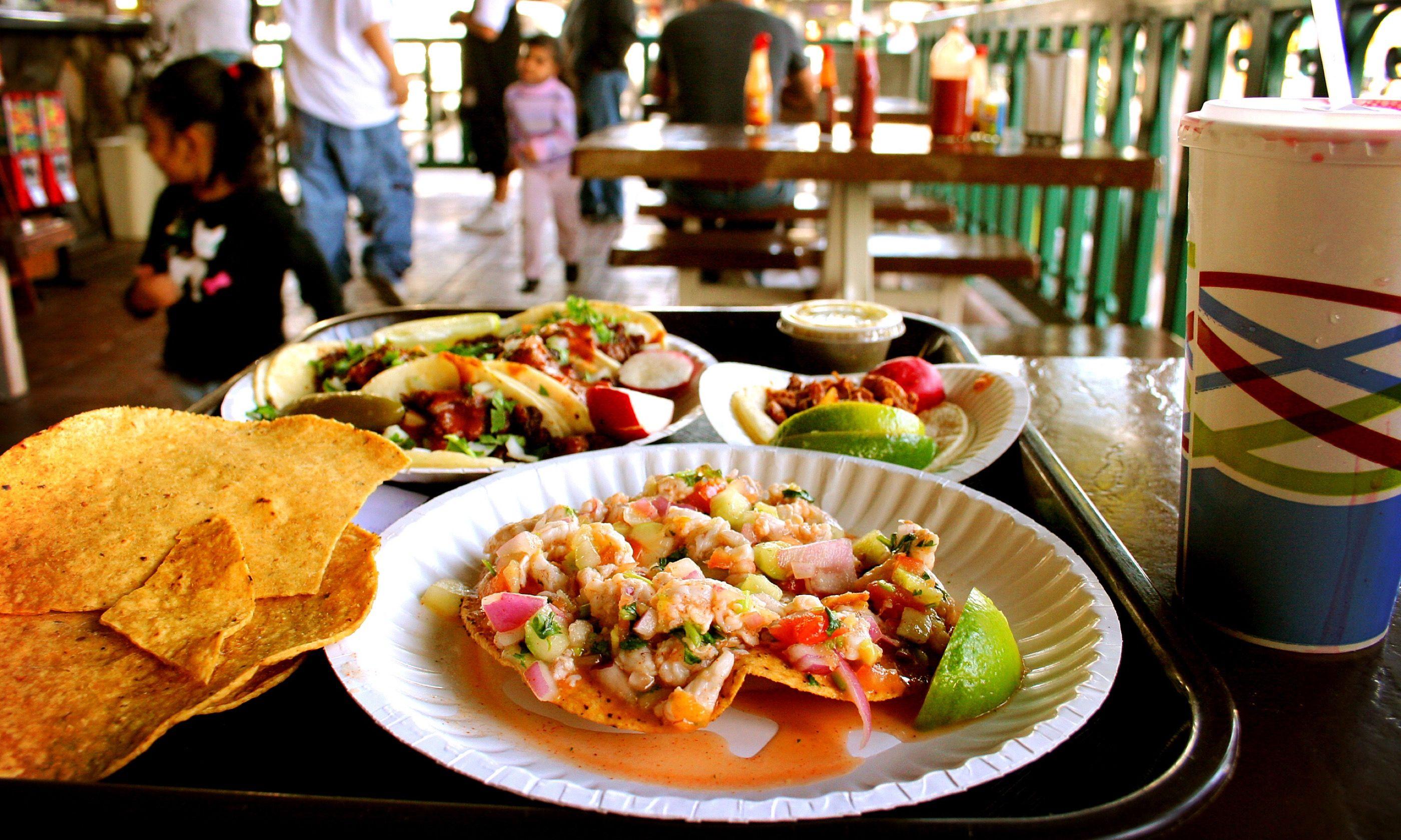 Food truck tacos (Gwen Harlow/VisitOakland.com)