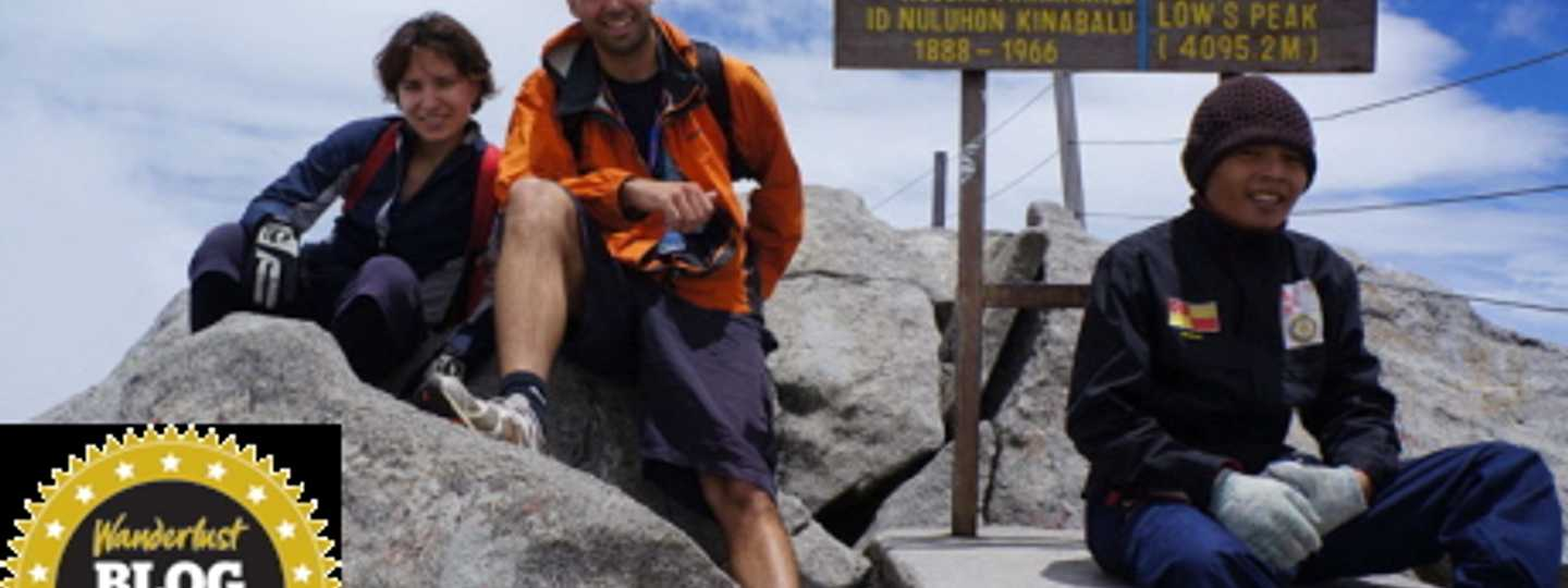 On top of Mount Kinabalu (Always Trekking)