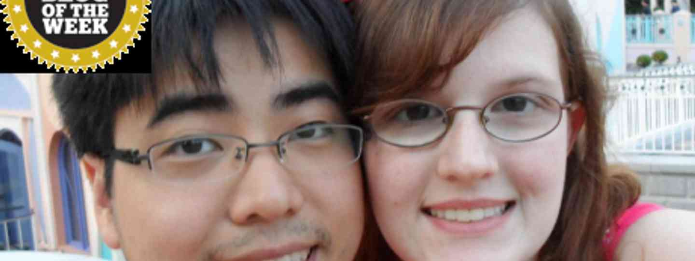 Happy couple (BesuDesu Abroad)