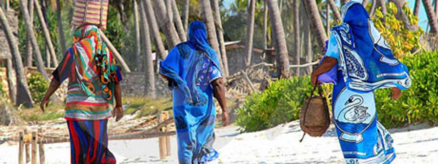 Just a few of Zanzibar's many beach traders (photo: dreamstime)