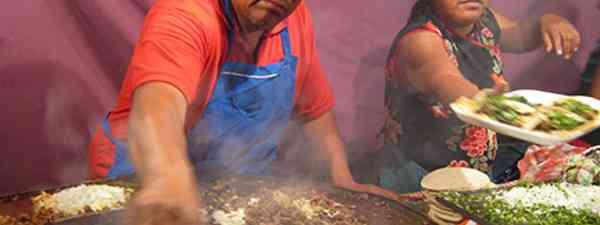 Mexican Taco Vendor (Marie Javins)