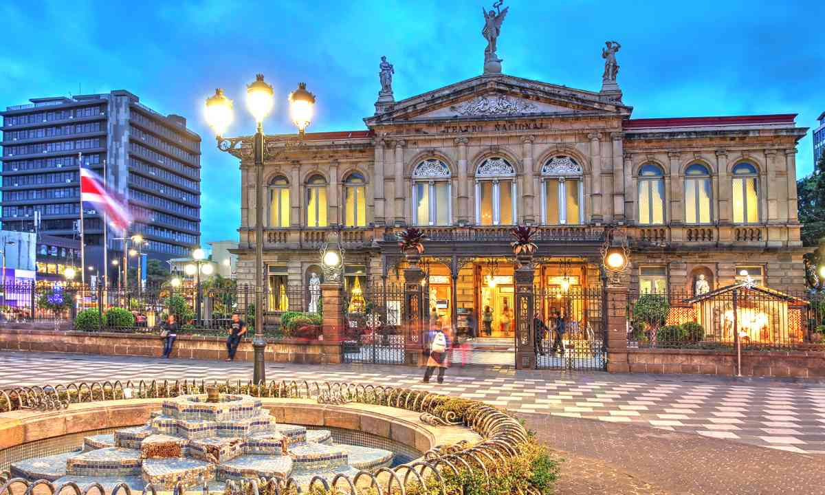National Theatre, San José, Costa Rica (Dreamstime)