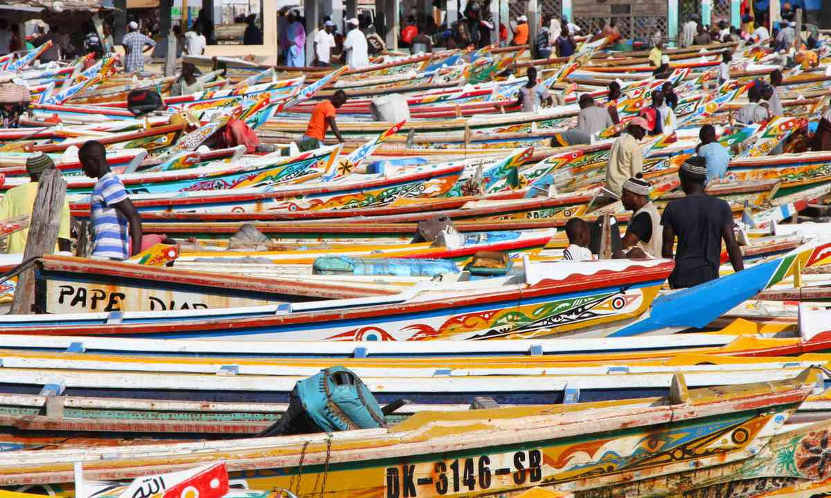 Fishermen in Dakar, Senegal (Dreamstime)