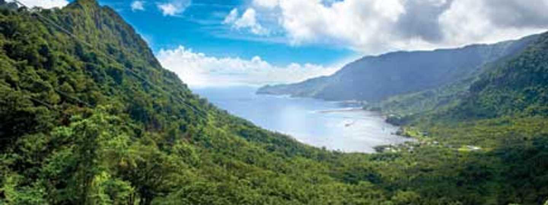Samoan hilltops (Samoa Tourist Board)