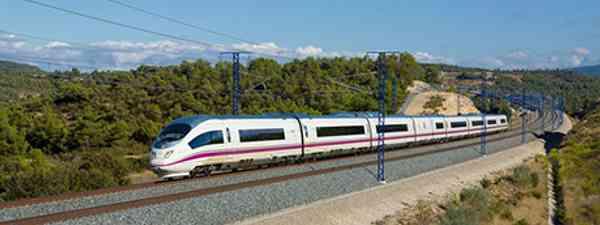 Spanish AVE train (ESA)