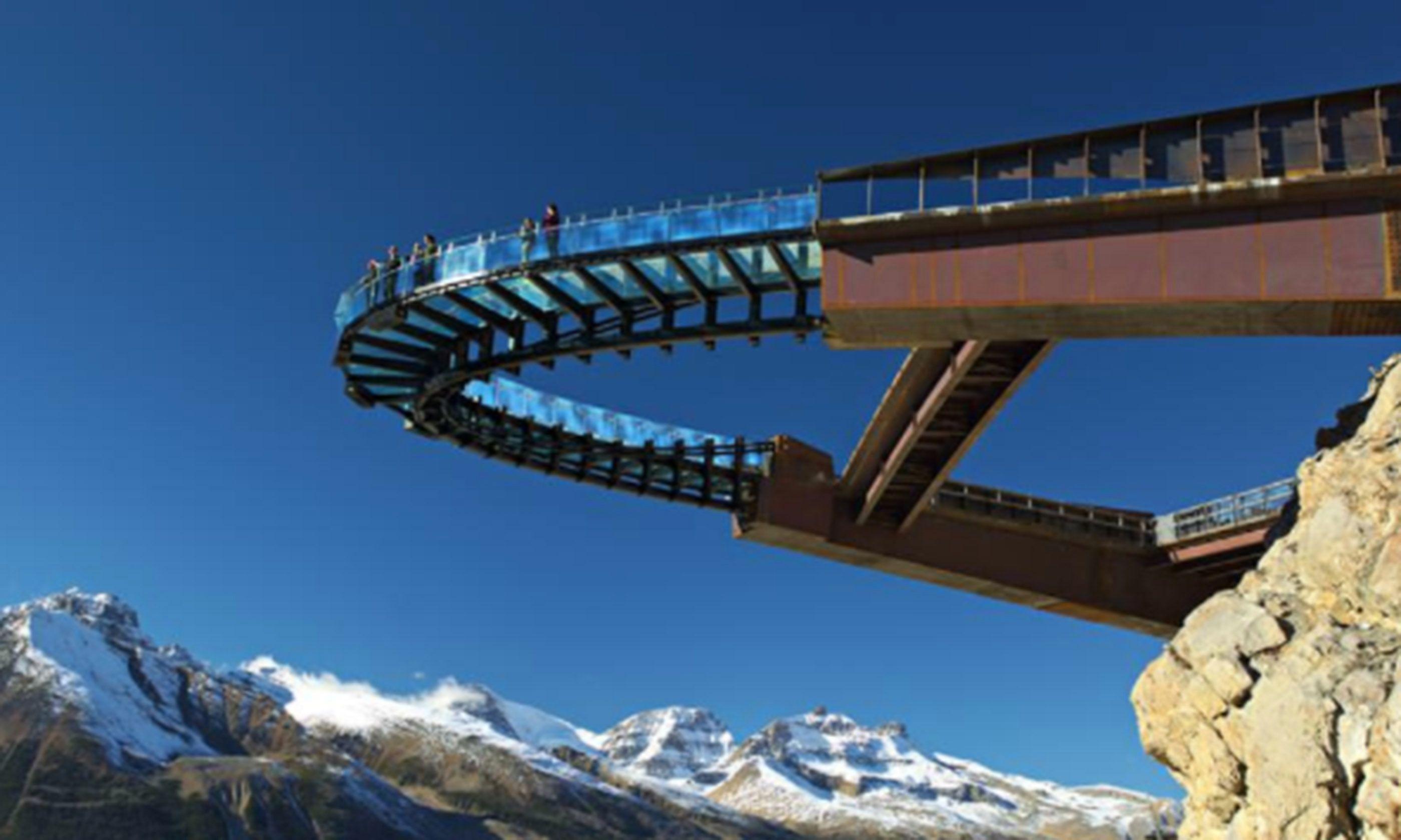Glacier Walk, Jasper (http://www.brewster.ca)