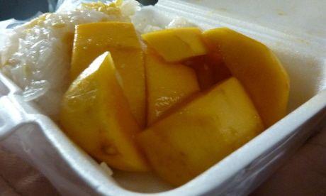 Mango and sticky rice (Bangkok Boutique)