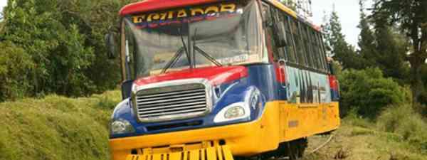 Chiva Bus, Ecuador (Wiki Images)