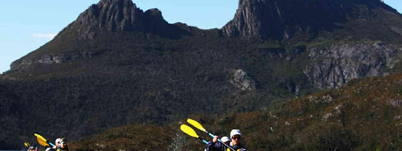 Kayaking in Tasmania (Mark Webber Challenge)