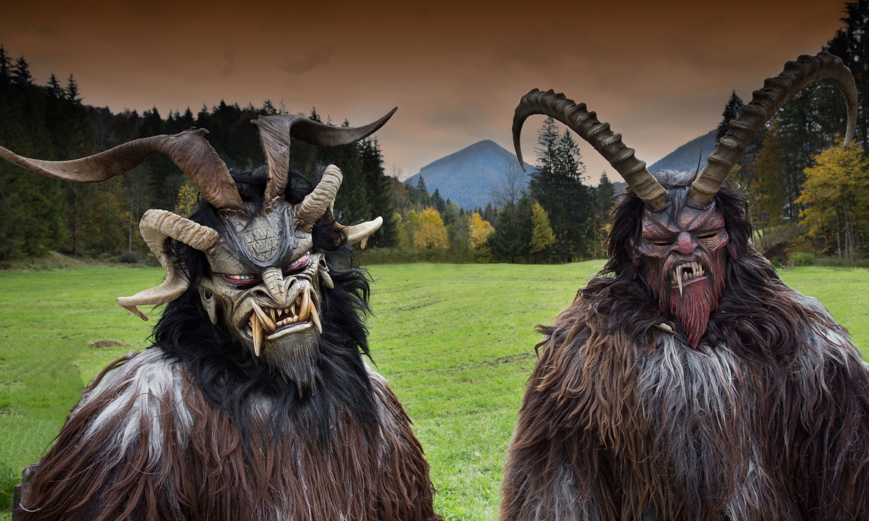 The hills are alive with ... Krampus (Shutterstock.com)