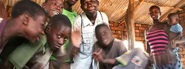 African kids (Charlie Walker)