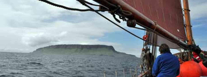 The Eda Frandsen off the isle of Eigg, Scotland (Dan Linstead)