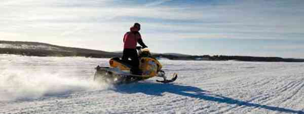 It's not just about the big snooze - there's the northern lights and snowmobiling too (Lyn Hughes and Simon Chubb)