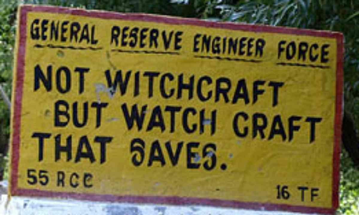 Witchcraft Watch Craft