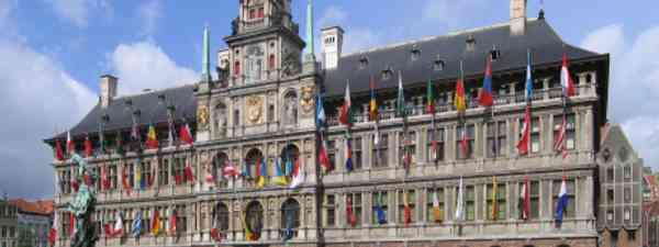 Antwerp Stadhuis (Wiki Images)