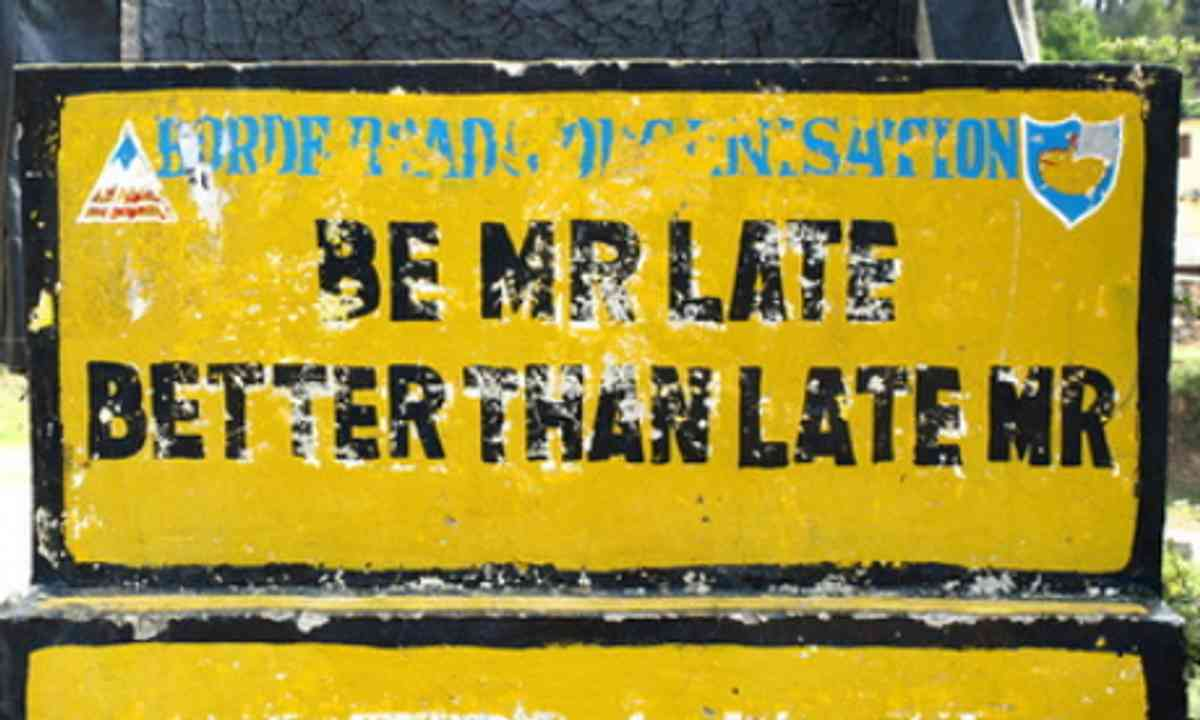 Be Mr Late