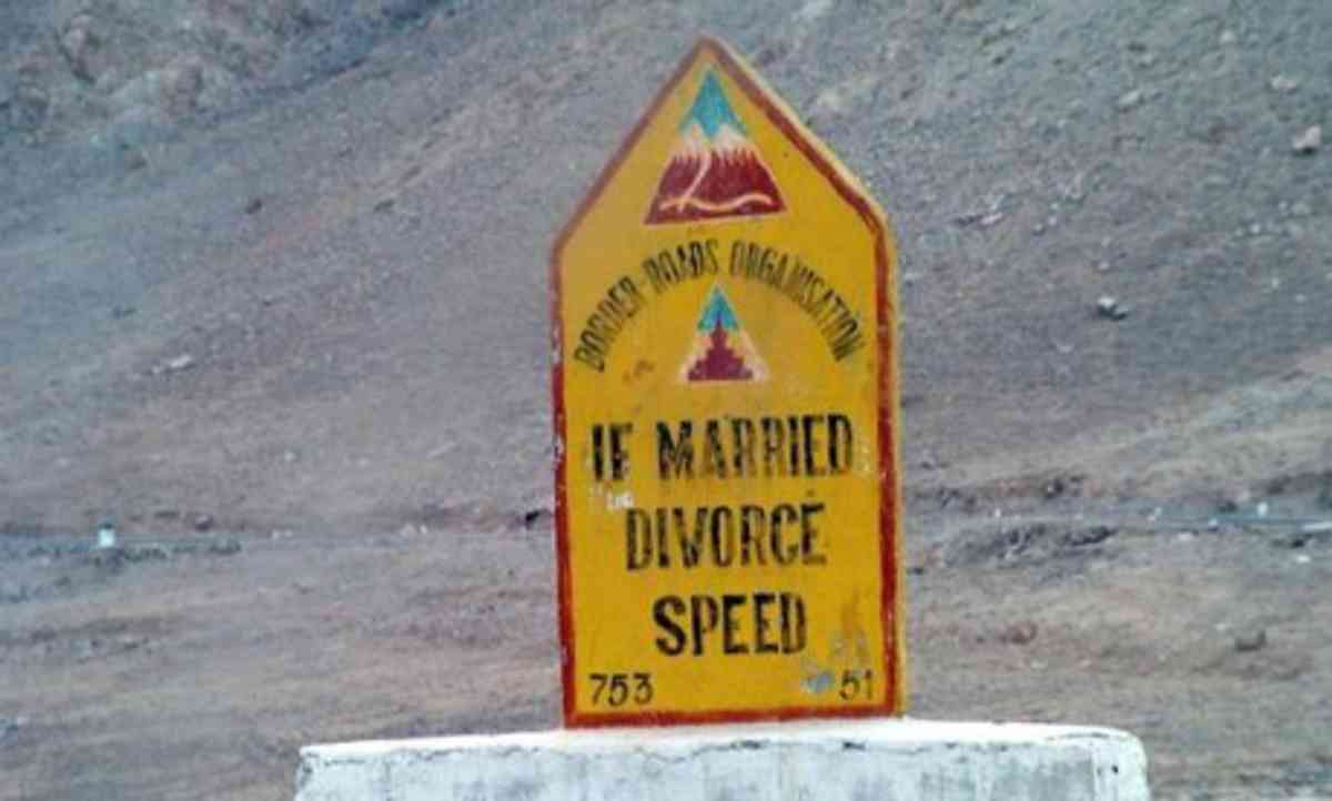 Divorce speed