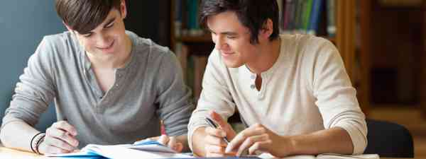 Students preparing an essay (Shutterstock: see credit below)