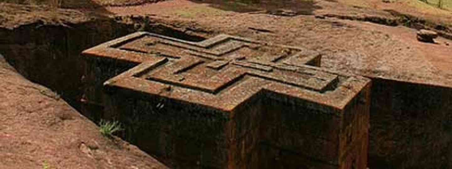 Lalibela's 12th century sculptors carved away 'all the rock that wasn't a church' (DamienHR)