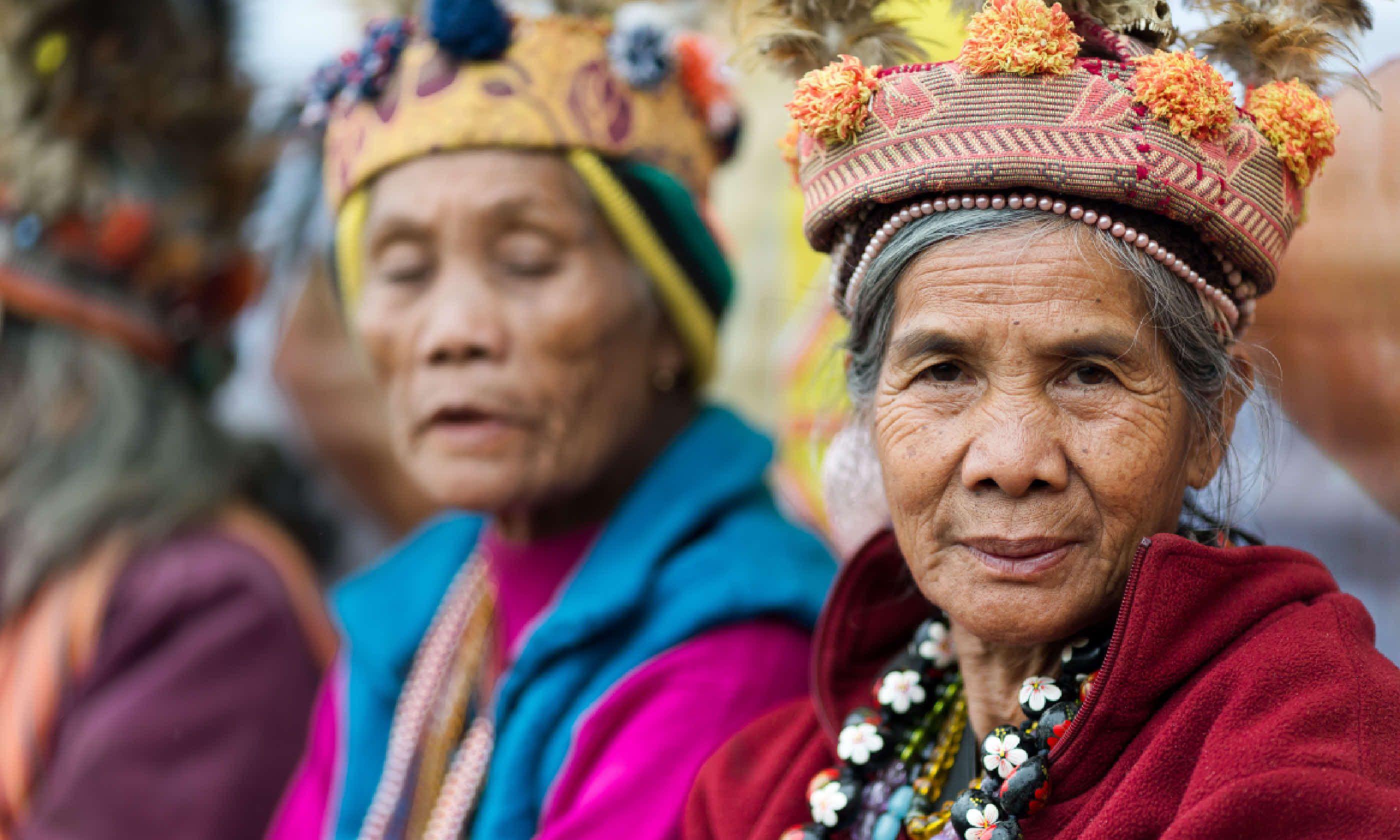 Tribeswomen in rural Banaue (Shutterstock)